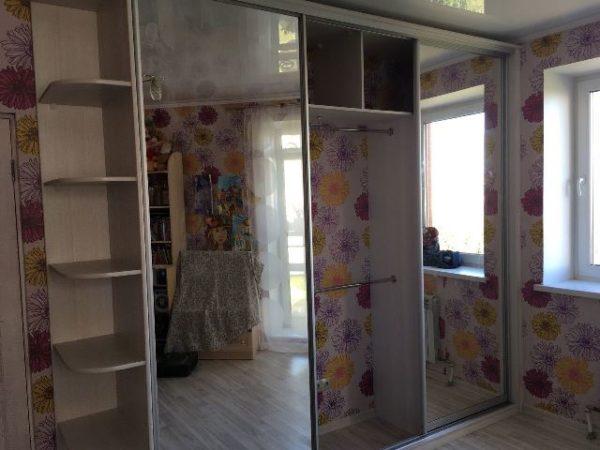 шкаф-упе с зеркалом омск заказть онлайн