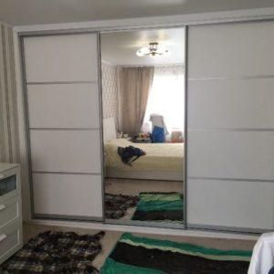 Белый шкаф-купе омск под заказ
