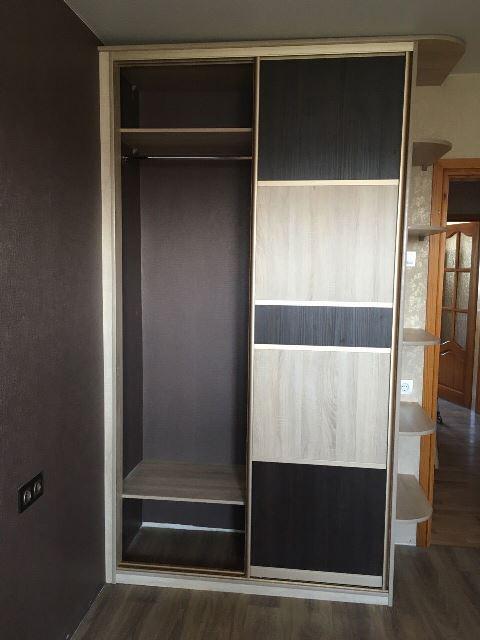Шкаф-купе цвет санома