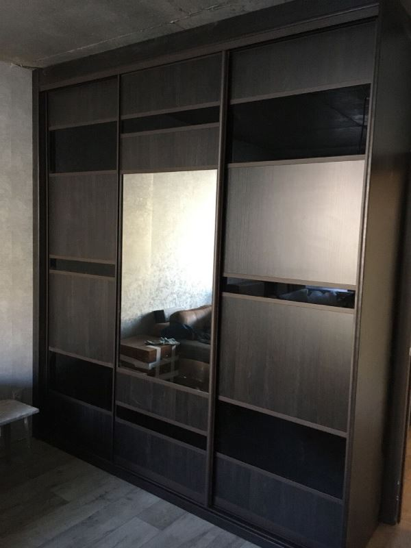 темный-шкаф купе изготовление в Омске